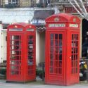 Two British phoneboxes