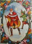King Wenceslas and his page doing good in Bohemia